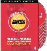 1994 Houston Rockets DVD