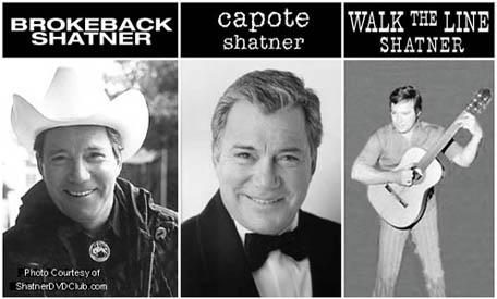 William Shatner Faux Oscar Headshots