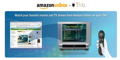 Amazon.com & TiVo Launch Download Partnership